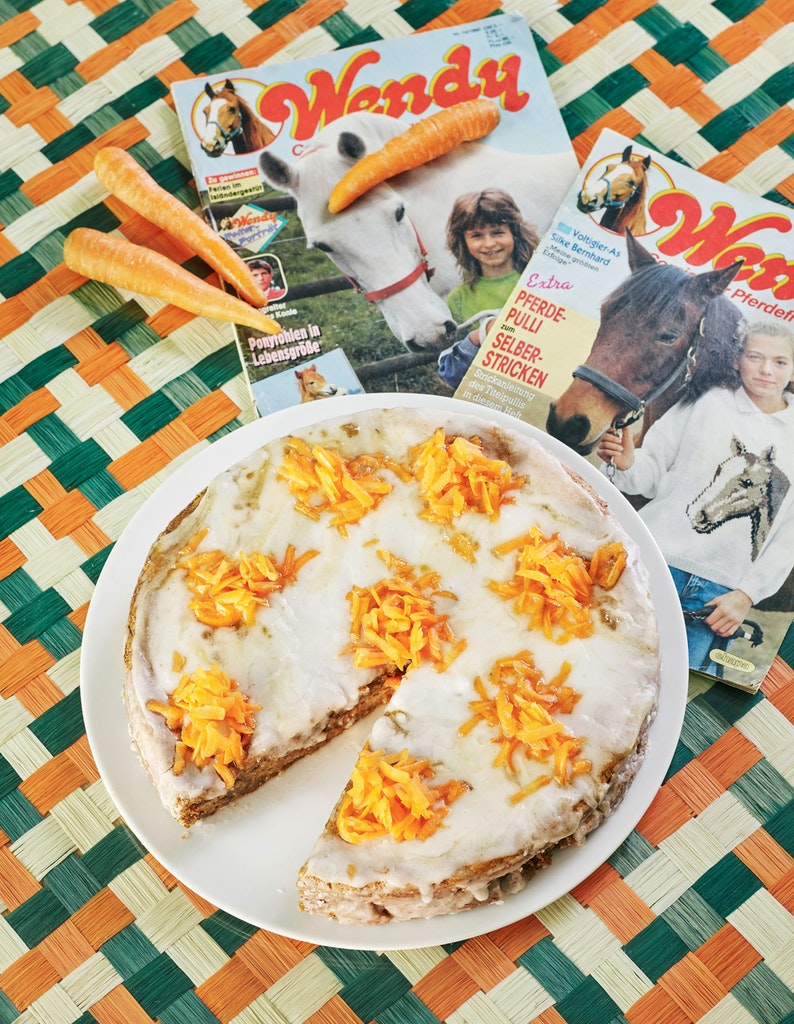 Zustellung in Wien: Karottentorte