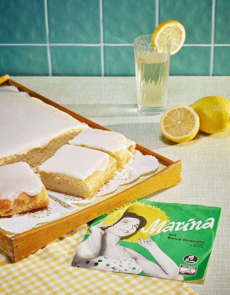 Zustellung in Wien: Zitronenkuchen