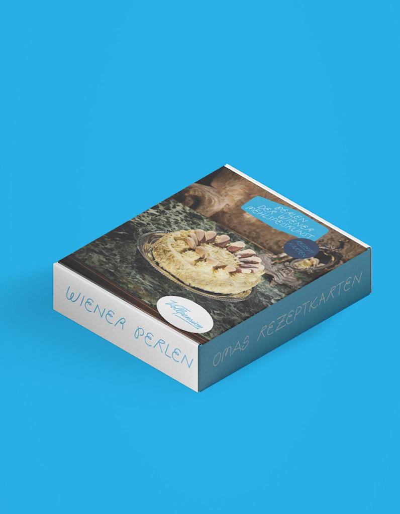 Rezeptkartenbox: Perlen der Wiener Mehlspeiskunst