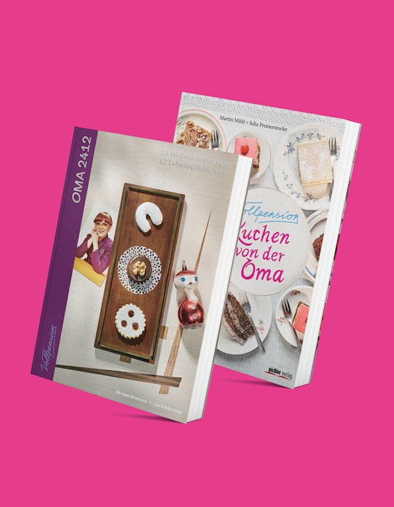 Bücherbundle: OMA2412 & Kuchen von der Oma