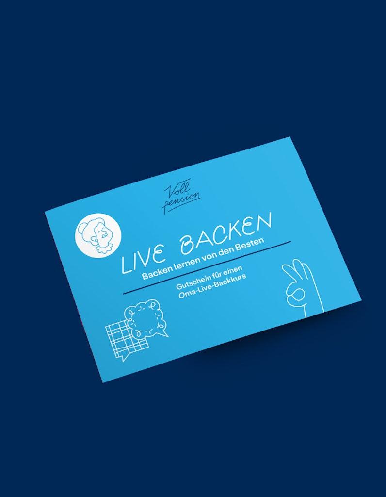 Gutschein Classic Oma-Live-Backkurs