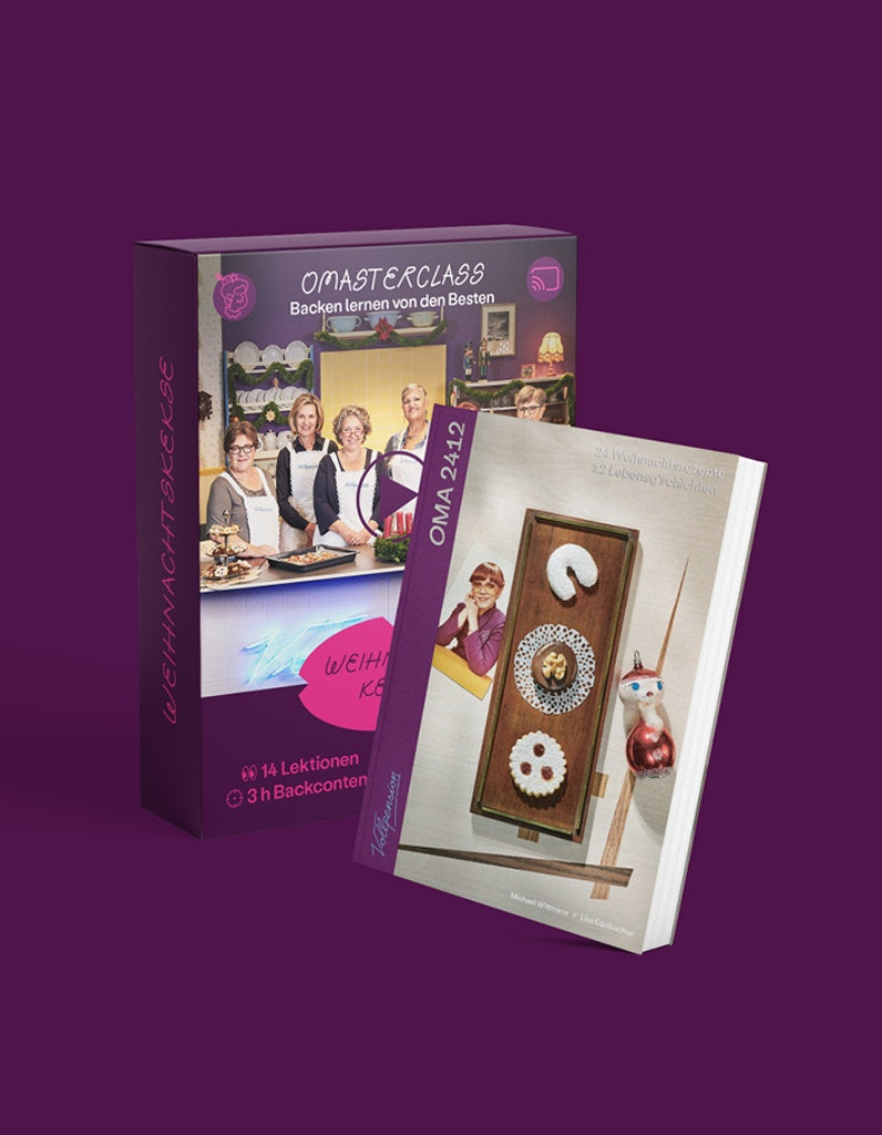 "Bundle: OMAsterclass ""Weihnachtskeks"" und OMA2412-Backbuch"